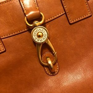 Dooney and Bourke Florentine top handle satchel